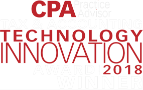 CPA Practice Advisor Tax & Accounting Technology Innovation Award | 2018 Winner