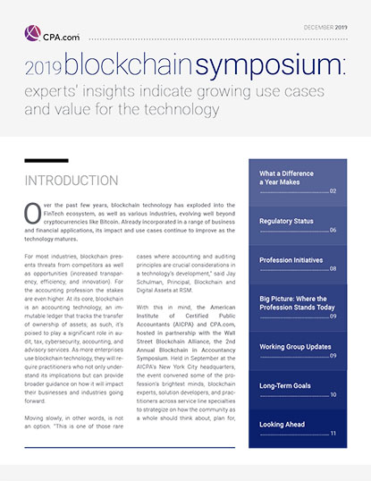 2019 Blockchain Symposium